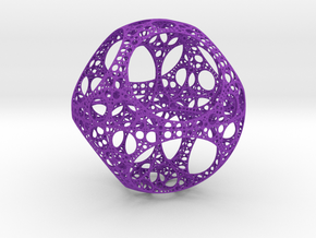 Apollonian Octahedron in Purple Strong & Flexible Polished