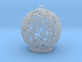 Thelema Ornament in Smooth Fine Detail Plastic