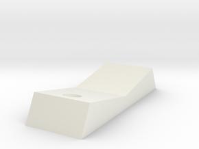 Tie Pilot Chest Box Rocker With Hole in White Natural Versatile Plastic