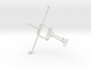 Controller mount for Xbox One & Allview P6 eMagic in White Natural Versatile Plastic