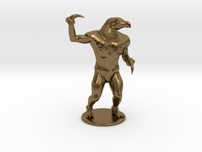 Hook Horror Miniature in Natural Bronze: 1:60.96