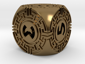 Daedalus D6 in Polished Bronze