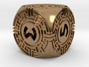 Daedalus D6 in Natural Brass