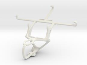 Controller mount for PS3 & Intex Aqua Ace in White Natural Versatile Plastic