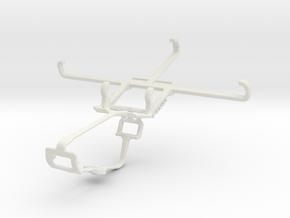 Controller mount for Xbox One & Intex Aqua Craze in White Natural Versatile Plastic