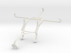 Controller mount for Xbox 360 & Intex Aqua GenX in White Natural Versatile Plastic