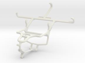 Controller mount for PS4 & Intex Aqua Star 2 in White Natural Versatile Plastic
