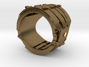 Dead Space Engineering Suit lvl3 ring - 18mm in Natural Bronze