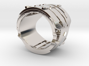 Dead Space Engineering Suit lvl3 ring - 18mm in Platinum