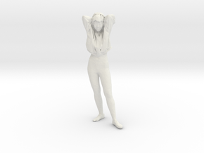 Printle C Femme 121-w/o base in White Strong & Flexible