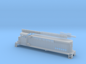 Hybrid BNSF 1205 HO in Smooth Fine Detail Plastic
