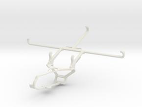 Controller mount for Steam & Posh Equal Pro LTE L7 in White Natural Versatile Plastic