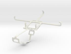 Controller mount for Xbox One & Posh Icon HD X551 in White Natural Versatile Plastic