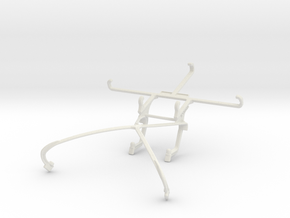 Controller mount for Shield 2015 & Posh Icon HD X5 in White Natural Versatile Plastic