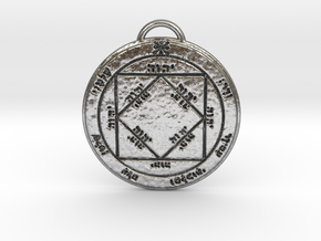 Third Pentacle of the Sun in Natural Silver