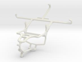 Controller mount for PS4 & Posh Titan Max HD E550 in White Natural Versatile Plastic