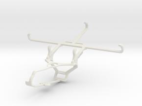 Controller mount for Steam & Posh Titan Max HD E60 in White Natural Versatile Plastic