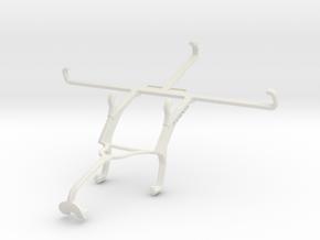 Controller mount for Xbox 360 & Posh Titan Max HD  in White Natural Versatile Plastic