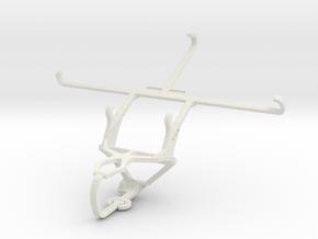 Controller mount for PS3 & Posh Volt Max LTE L640 in White Natural Versatile Plastic