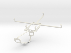 Controller mount for Xbox One & Posh Volt Max LTE  in White Natural Versatile Plastic