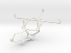 Controller mount for Steam & QMobile Noir S1 - Fro in White Natural Versatile Plastic