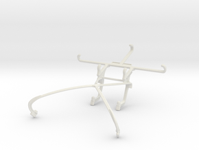 Controller mount for Shield 2015 & QMobile Noir S5 in White Natural Versatile Plastic