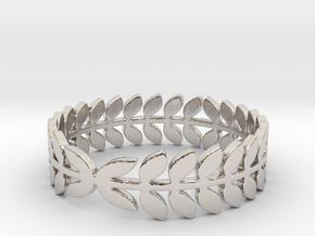 Laurel Ring (size 4-13) in Platinum: 4 / 46.5