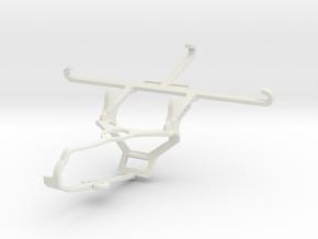 Controller mount for Steam & QMobile Noir Z9 - Fro in White Natural Versatile Plastic