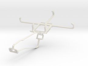 Controller mount for Xbox One Chat & Unnecto Bolt in White Natural Versatile Plastic