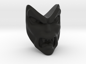 D&D Venger Angry Face in Black Strong & Flexible