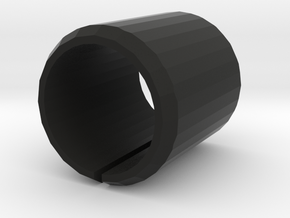 Port Cover 21mm in Black Strong & Flexible