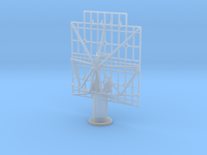 1/144 Scale WW2 USN SK Radar  in Smooth Fine Detail Plastic