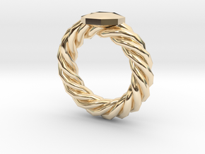 Bodacious Ring in 14K Yellow Gold