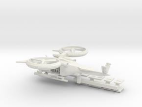 SA2 Samson 1 To 285 Mod To Size V11 Long Range Sol in White Natural Versatile Plastic