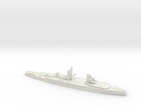 Lyon 1/2400 (No Main Turrets) in White Natural Versatile Plastic