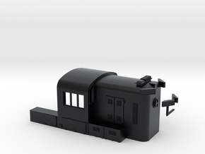 N Scale PRR RS3 Hammer Head in Black Hi-Def Acrylate