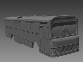 Volvo B10m Bus 2-2-0 N scale in Smooth Fine Detail Plastic
