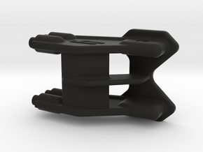 2616 - B6 | B6D REAR One-Piece WING MOUNT 3D in Black Strong & Flexible