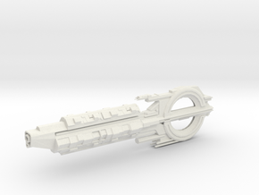 Quarian Cruiser. in White Natural Versatile Plastic
