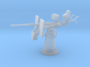 1/96 20mm Oerlikon Mk4 w/ MK14 Gun Sight in Frosted Extreme Detail