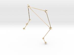Zodiac Libra in 14k Gold Plated