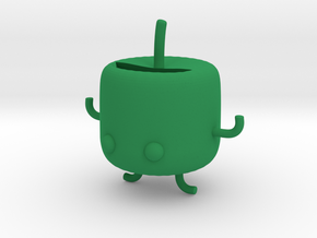 Junimo Pen Holder in Green Strong & Flexible Polished