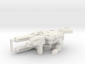 Birdshot (Falcon/Eagle) Transforming Weaponoid Kit in White Strong & Flexible