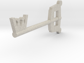 Keyblade in Natural Sandstone