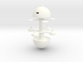 Utopia Planitia Spacedock 60mm in White Processed Versatile Plastic