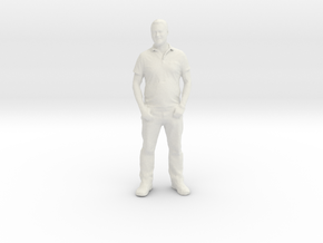 Printle C Homme 038 - 1/24 - wob in White Natural Versatile Plastic