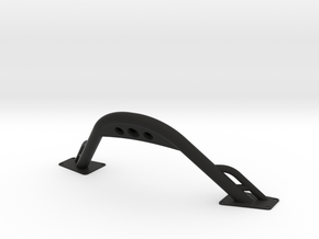 Scx10 2 Bumper Horn in Black Natural Versatile Plastic
