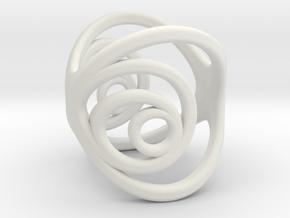 Aurea_Ring_2 in White Natural Versatile Plastic: 11 / 64