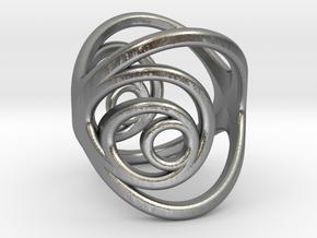 Aurea_Ring_2 in Natural Silver: 11 / 64