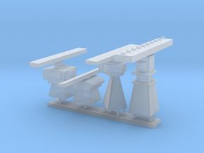 1/72 scale Radar Set in Smooth Fine Detail Plastic
